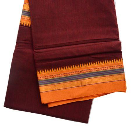 Ilkal Plain saree