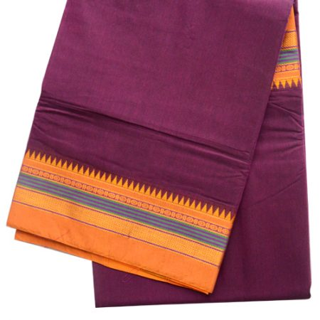 Ilkal Plain saree
