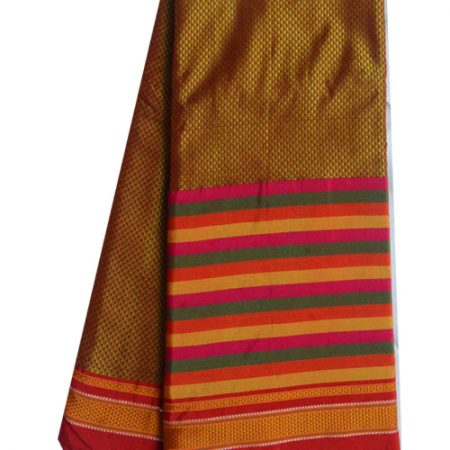 Guledgudda Cotton Khana With Ilkal Pallu Saree
