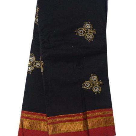 Ilkal Silk by Cotton Embose Saree