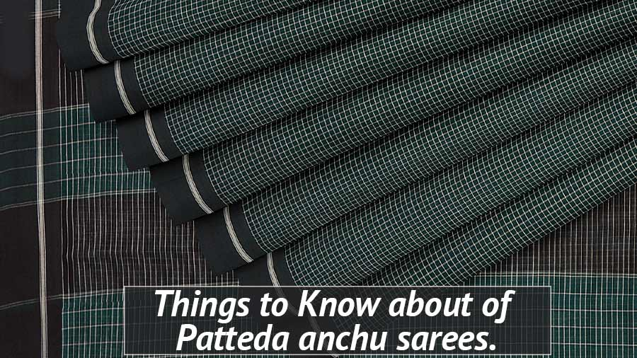 Patteda Anchu Saree
